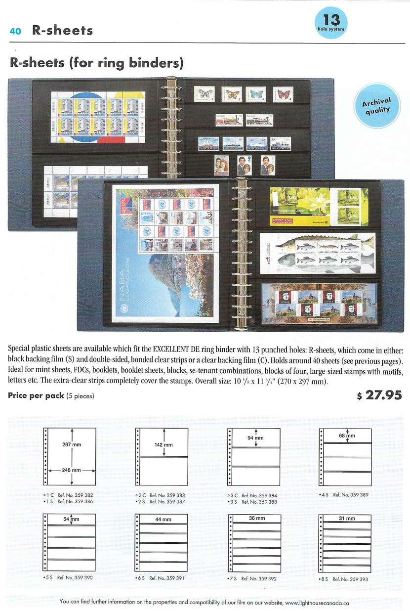 FvHStamps Auction Listings